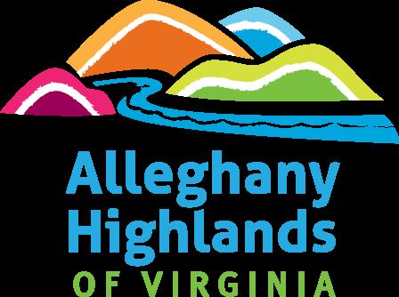 Alleghany Highlands of Virginia tourism logo